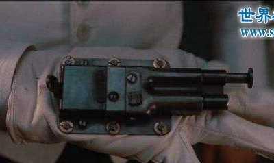 间谍枪 精妙伪装成小物件的暗杀手枪