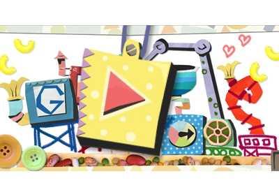 google doodle设计 Google Doodle的母亲节设计